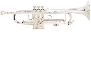 Trompeta Sib BACH modelo 180ML tudel no standard PLATEADA