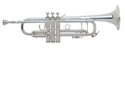 Trompeta Sib BACH modelo 180L tudel standard PLATEADA