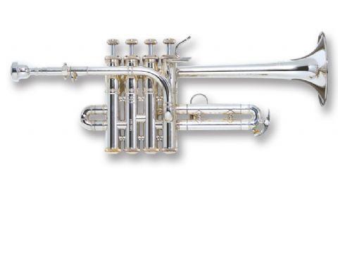 Trompeta piccolo BACH modelo 196S PLATEADA