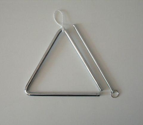 Triangulo de acero de 16 cm HONSUY modelo 47800