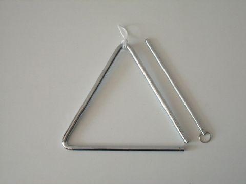 Triangulo de acero de 18 cm HONSUY modelo 47850