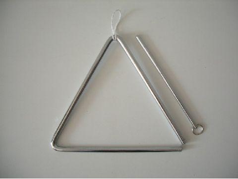 Triangulo de acero de 20 cm HONSUY modelo 47900