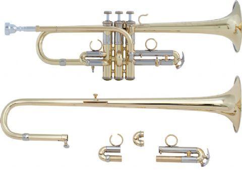 Trompeta Mib/Re BACH modelo ADE190 ARTISAN LACADA