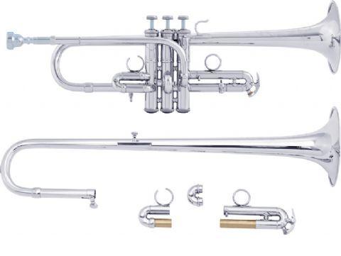 Trompeta Mib/Re BACH modelo ADE190 ARTISAN PLATEADA