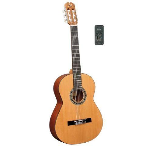 Guitarra clásica electrificada ADMIRA modelo MALAGA E