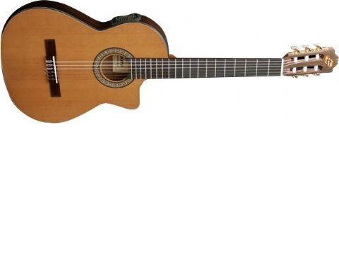 Guitarra clásica electrificada ADMIRA modelo VIRTUOSO ECTF
