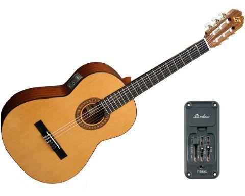 Guitarra clásica electrificada ADMIRA modelo JUANITA E