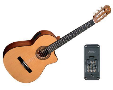 Guitarra clásica electrificada ADMIRA modelo JUANITA EC