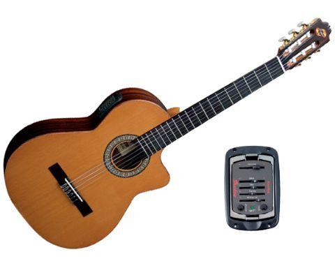 Guitarra clásica electrificada ADMIRA modelo VIRTUOSO ECF