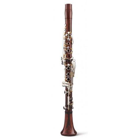 Clarinete La BACKUN modelo LUMIERE COCOBOLO llaves PLATA pilares ORO