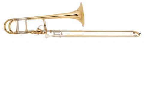 Trombon Sib/Fa BACH modelo LT42 T