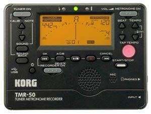 Afinador/Metronomo KORG modelo TMR-50