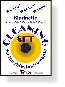 Kit limpieza clarinete REKA