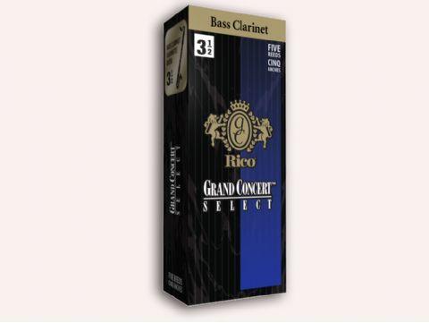 Caja  cañas clarinete bajo RICO modelo GRAND CONCERT SELECT