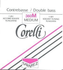 Cuerda 4ª contrabajo CORELLI SOLISTA modelo 364