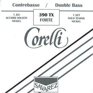 Juego cuerdas contrabajo CORELLI SOLISTA modelo 390