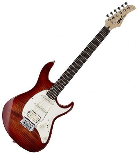 Guitarra eléctrica CORT modelo G 210FT