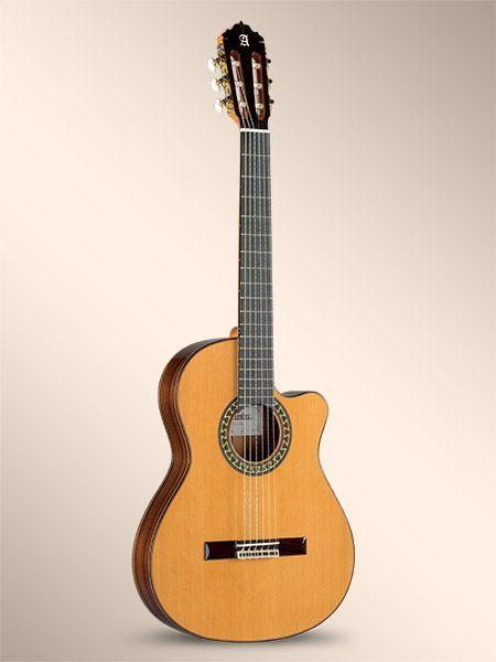 Guitarra Cut-Away ALHAMBRA modelo 5 P-CT-E2