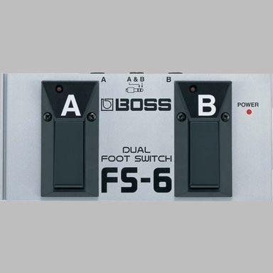 Conmutador de pedal BOSS modelo FS-6