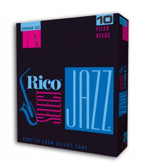 Caja cañas saxofon soprano RICO modelo SELECT JAZZ
