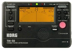 Afinador/Metronomo KORG modelo TM-50