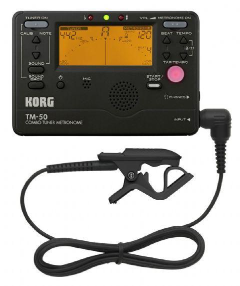 Afinador/Metronomo KORG modelo TM-50C