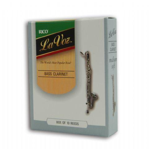 Caja cañas clarinete bajo RICO modelo LA VOZ