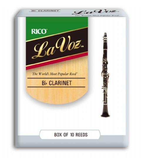 Caja cañas clarinete RICO modelo LA VOZ
