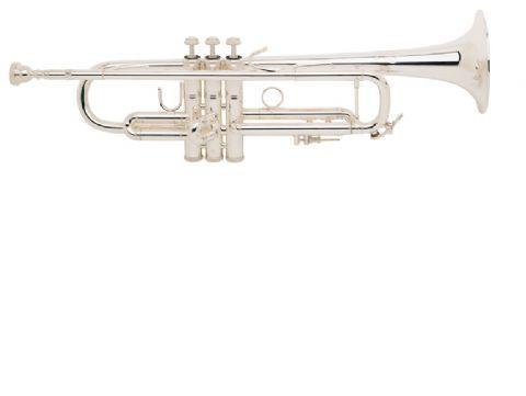 Trompeta Sib BACH modelo LR180ML tudel no standard PLATEADA