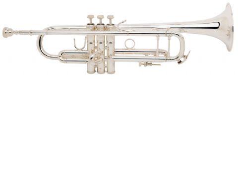 Trompeta Sib BACH modelo LT180ML tudel standard PLATEADA