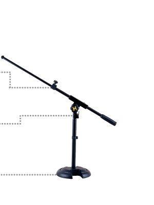 Pie de microfono HERCULES modelo MS-120-B