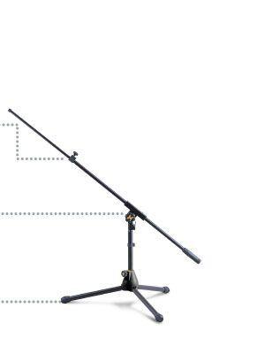 Pie de microfono HERCULES modelo MS-540-B
