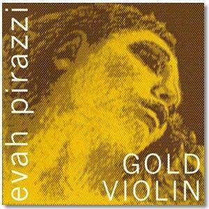 Juego cuerdas violin EVAH PIRAZZI GOLD modelo 415091