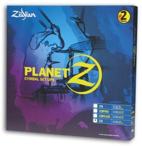 Juego de platos ZILDJIAN modelo PLANET Z