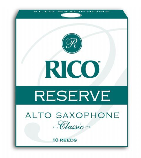 Caja cañas saxofon alto RICO modelo RESERVE CLASSIC