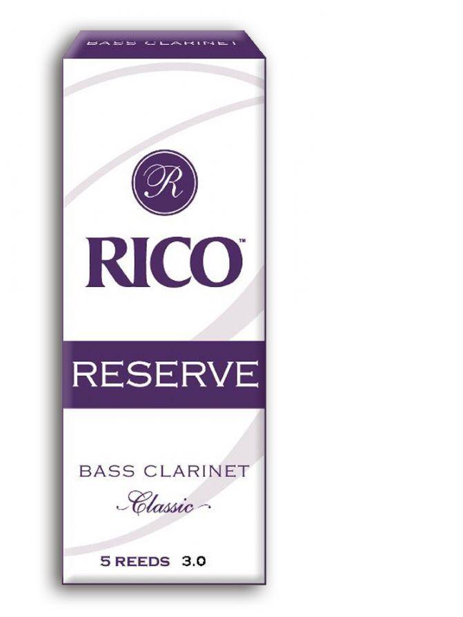 Caja cañas clarinete bajo RICO modelo RESERVE CLASSIC