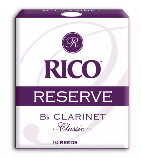 Caja cañas clarinete RICO modelo RESERVE CLASSIC