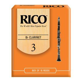 Caja cañas clarinete RICO modelo RICO