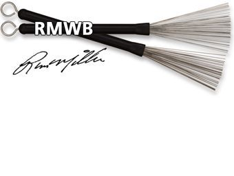 Par de escobillas VIC FIRTH modelo RUSS MILLER WIRE BRUSHES RMWB