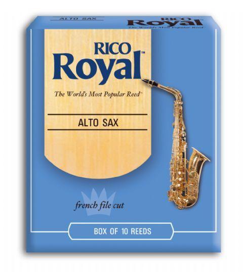 Caja cañas saxofon alto RICO modelo RICO ROYAL