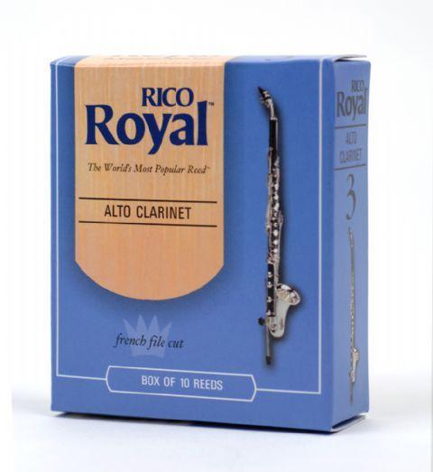 Caja cañas clarinete alto RICO modelo RICO ROYAL