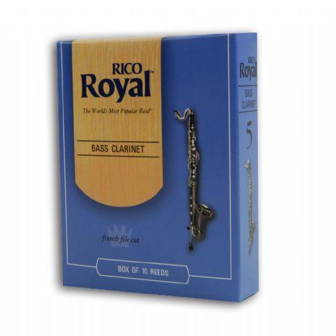 Caja cañas clarinete bajo RICO modelo RICO ROYAL