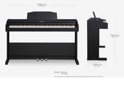 Piano digital ROLAND modelo RP-102