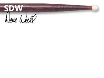 Baquetas VIC FIRTH modelo DAVE WECKL ORIGINAL SDW