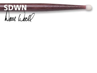 Baquetas VIC FIRTH modelo DAVE WECKL ORIGINAL SDWN