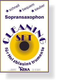 Kit limpieza saxofon soprano REKA