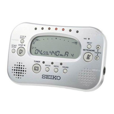 Metronomo con afinador marca SEIKO modelo STH100