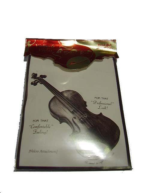 Protector barbada violin modelo STRAD PAD standard
