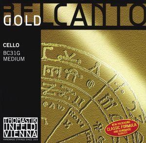 Cuerda 4ª violonchelo BELCANTO GOLD modelo BC33G