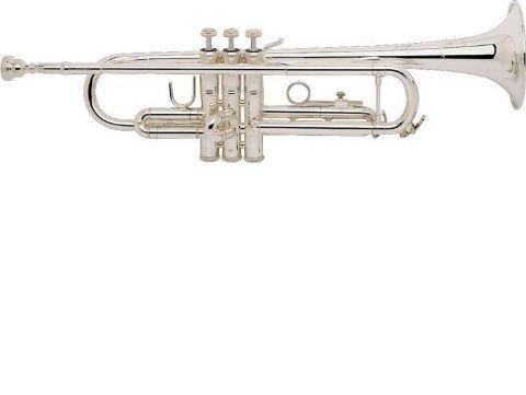 Trompeta Sib BACH modelo TR 200 PLATEADA